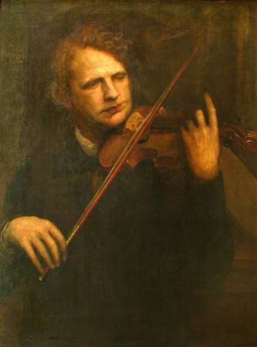 Dr J Joachim | George Frederic Watts | Oil Painting