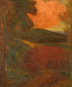 End of the Day (Surrey Woodland) | George Frederic Watts | Oil Painting