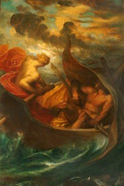 Love Steering the Boat of Humanity | George Frederic Watts | Oil Painting