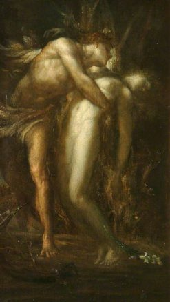 Orpheus and Euridice | George Frederic Watts | Oil Painting