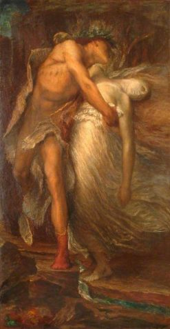 Orpheus and Euridice (second version) | George Frederic Watts | Oil Painting
