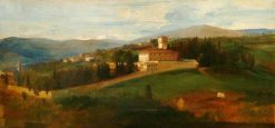Villa Petraia | George Frederic Watts | Oil Painting