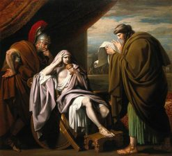 Alexander the Great Demonstrating His Trust in His Physician