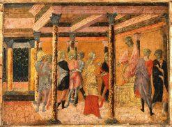Potiphar's Wife Denouncing Joseph to Potiphar | Francesco di Giorgio Martini | Oil Painting