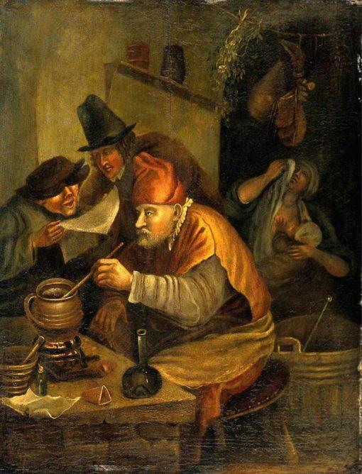 The Alchemist | Jan Havicksz. Steen | Oil Painting