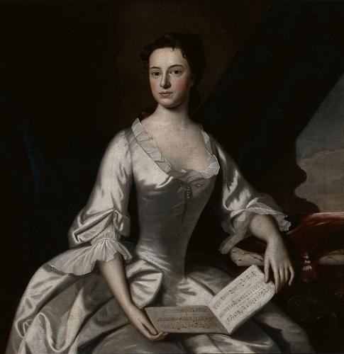 Mrs. Barlow Trecothick   Robert Feke   Oil Painting
