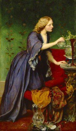Jane 'Jeanie' Elizabeth Hughes | George Frederic Watts | Oil Painting