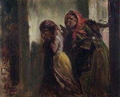 Two Women   John Phillip   Oil Painting