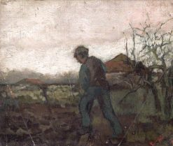Digging | Sir Frank William Brangwyn | Oil Painting