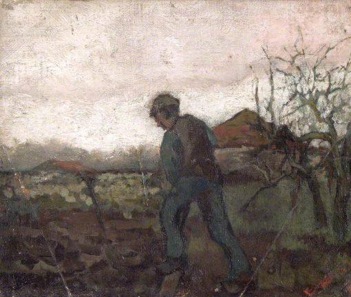 Digging | Sir Frank William Brangwyn | Oil Painting