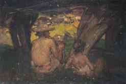 The Goatherd | Sir Frank William Brangwyn | Oil Painting