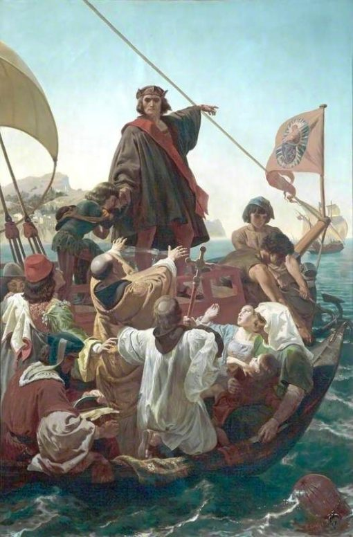 The Departure of Columbus from Palos