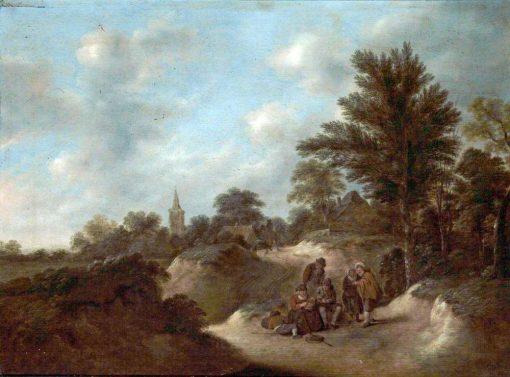 Dutch Landscape | Klaes Molenaer | Oil Painting