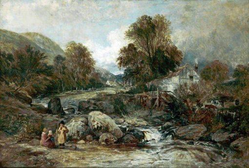 Dol-y-Garrog Mill near Llanrwst