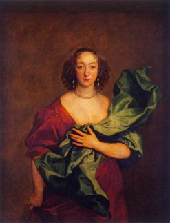 Portrait of the Countess Castlehaven | Anthony van Dyck | Oil Painting