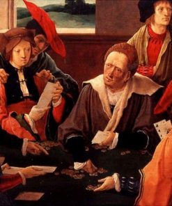 The Card Players | Lucas van Leyden | Oil Painting