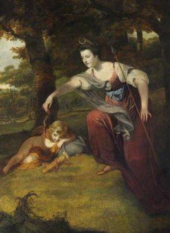 Diana Disarming Cupid: Elizabeth Dashwood