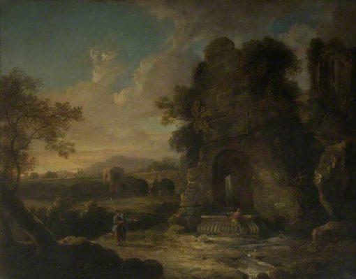 Bridge Ruins and a Fountain | Richard Wilson