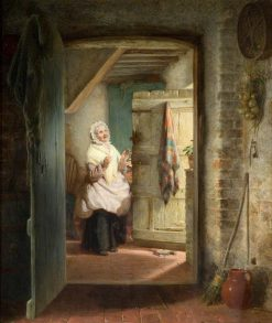 The Surprise | George Bernard O'Neill | Oil Painting