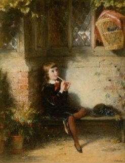 The Duet | George Bernard O'Neill | Oil Painting