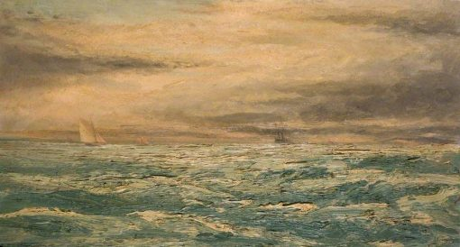 A Choppy Day in the Channel | Henry Moore | Oil Painting