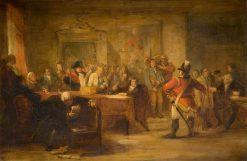 Sketch: The Recruit | John Phillip | Oil Painting