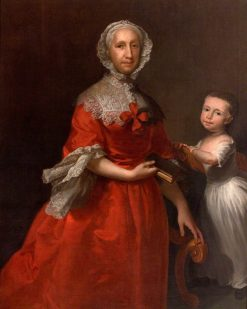 Isabella Lee and Her Grandson