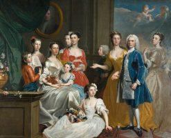 The Family of E. Lancelot Lee | Joseph Highmore | Oil Painting