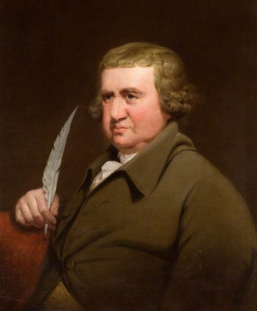 Erasmus Darwin | Joseph Wright of Derby | Oil Painting