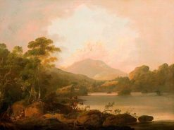 Lakeside Landscape | Julius Caesar Ibbetson | Oil Painting