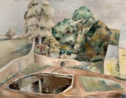 The Pond at Souldern | Paul Nash | Oil Painting