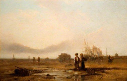 Fort Rouge | Richard Parkes Bonington | Oil Painting