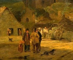 The Village Gossip | William Collins | Oil Painting