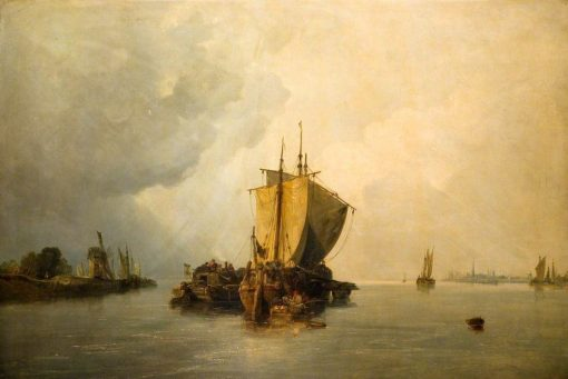 The Mouth of the Scheldt | William James Muller | Oil Painting