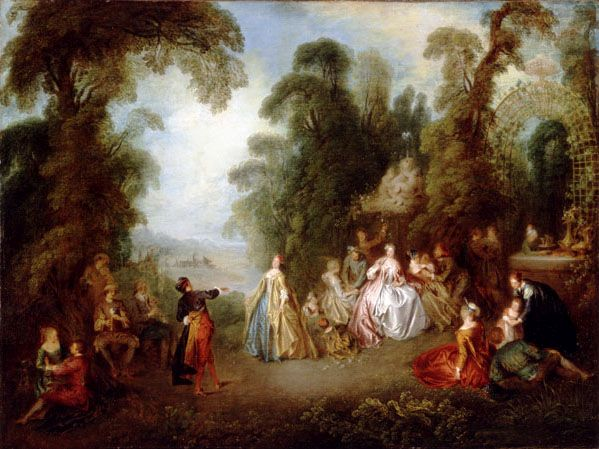 The Dance | Jean Baptiste Pater | Oil Painting