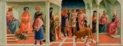 The Miracle of Saint Silvester | Pesellino | Oil Painting