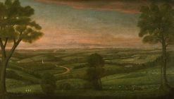 Looking East from Denny Hill | Ralph Earl | Oil Painting
