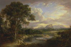View of the City of Edinburgh | Alexander Nasmyth | Oil Painting