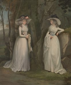 Eleanor and Margaret Ross | Alexander Nasmyth | Oil Painting