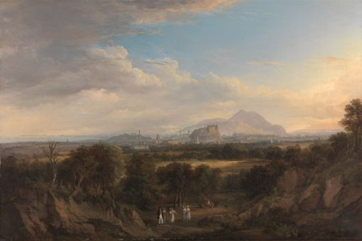 A View of Edinburgh from the West   Alexander Nasmyth   Oil Painting