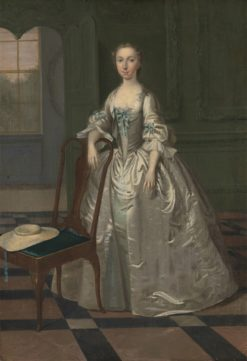 A Lady in a Drawing Room | Arthur Devis | Oil Painting