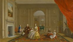 The John Bacon Family | Arthur Devis | Oil Painting