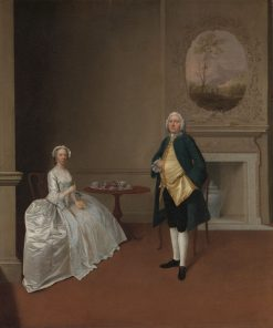 Mr. and Mrs. Hill | Arthur Devis | Oil Painting