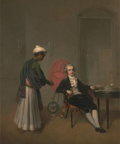 Portrait of a Gentleman and an Indian Servant | Arthur William Devis | Oil Painting