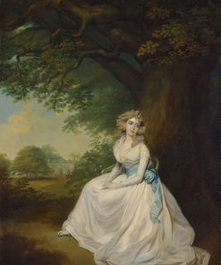 Lady Chambers | Arthur William Devis | Oil Painting