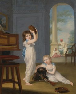 Emily and George Mason | Arthur William Devis | Oil Painting