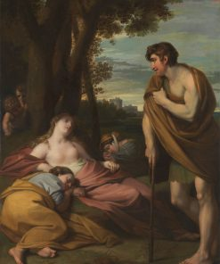 Cymon and Iphigenia | Benjamin West | Oil Painting