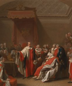 The Death of Chatham | Benjamin West | Oil Painting