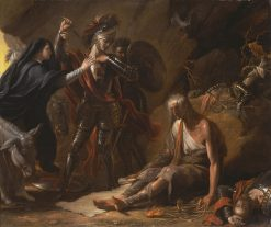 The Cave of Despair from Spencer Windsor Castle | Benjamin West | Oil Painting