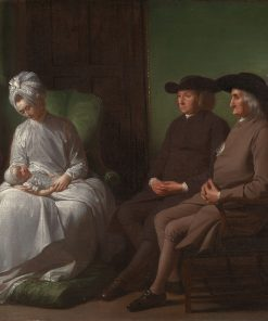 The Artist and His Family | Benjamin West | Oil Painting